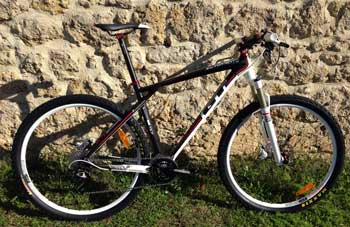 cycles et nature : magasin de vente et de reparation de velo a bordeaux, GT bicycles zascar carbon 9r elite 2013