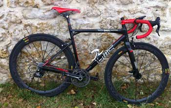 cycles et nature : magasin de vente et de reparation de velo a bordeaux, bmc Team Machine slr 01 2011