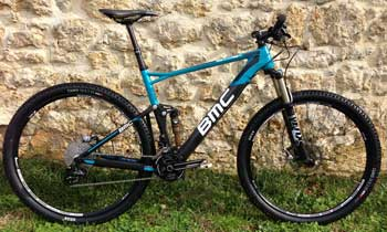 cycles et nature : magasin de vente et de reparation de velo a bordeaux, bmc Fourstroke FS02 Tailcrew2013