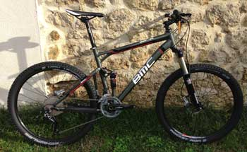 cycles et nature : magasin de vente et de reparation de velo a bordeaux, bmc speedfox sf01 deore slx 2013