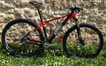 cycles et nature : magasin de vente et de reparation de velo a bordeaux, bmc team elite te02 XT 2013