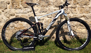 cycle, cycles et nature : magasin de vente et de reparation de velo a bordeaux BMC Fourstroke FS02 XT 29 2014