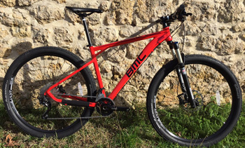 cycles et nature : magasin de vente et de reparation de velo a bordeaux, BMC Team elite TE03 slx xt 2016