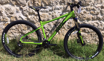 cycles et nature : magasin de vente et de reparation de velo a bordeaux, BMC Sportelite 27.5 TWO (GREEN) 2018