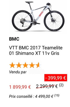 cycles et nature : magasin de vente et de reparation de velo a bordeaux, bmc 2019
