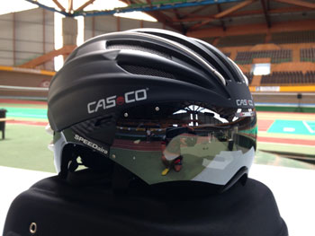 Casco speedairo test
