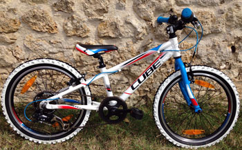 cycle, cycles et nature : magasin de vente et de reparation de velo a bordeaux, Kid 200 teamline 20'' 2015 OCCASION