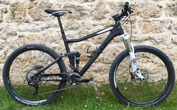 cycle, cycles et nature : magasin de vente et de reparation de velo a bordeaux, VTT CUBE STEREO 120 HPC RACE 2016 27.5''