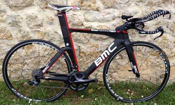 cycles et nature : magasin de vente et de reparation de velo a bordeaux, bmc time machine tm 01 2012 occasion