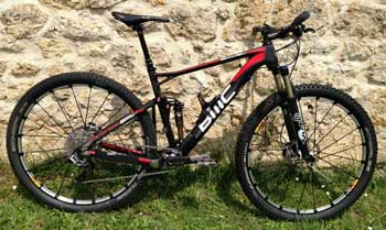 cycles et nature : magasin de vente et de reparation de velo a bordeaux, bmc fourstroke fs 01 2013
