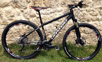 "cycles et nature : magasin de vente et de reparation de velo a bordeaux, Cannondale Flash 29"" 2013 occasion"