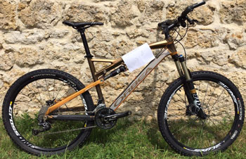 cycle, cycles et nature : magasin de vente et de reparation de velo a bordeaux, VTT Orbea OCCAM 26 2012 occasion