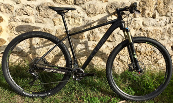 "cycle, cycles et nature : magasin de vente et de reparation de velo a bordeaux VTT CUBE 29"" LTD SL 2016"