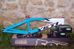 cycle, cycles et nature : magasin de vente et de reparation de velo a bordeaux, yeti  bmx super x